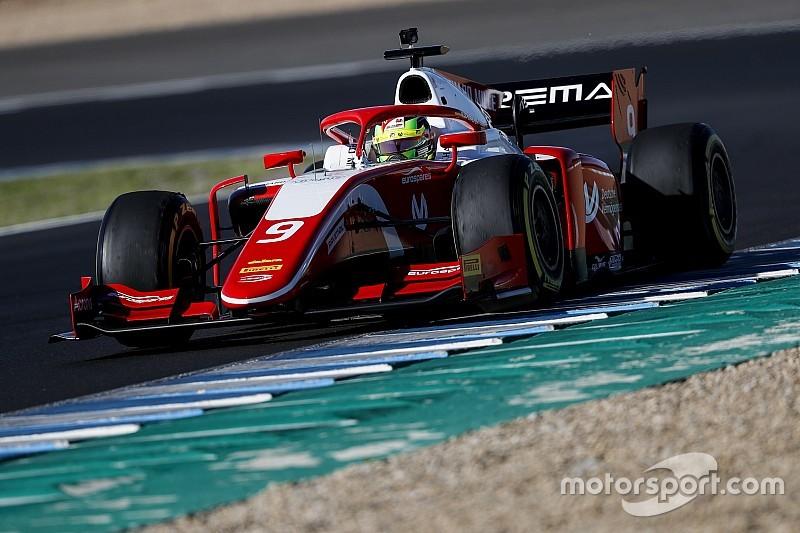 Мік Шумахер став найшвидшим гонщиком на тестах Ф2