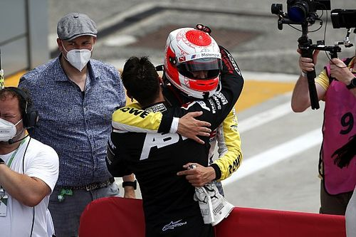 Van der Linde glad to even score with brother with DTM win