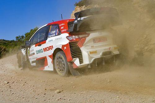 Ogier lidera el 1-2 de Toyota a un día de concluir el Rally de Cerdeña
