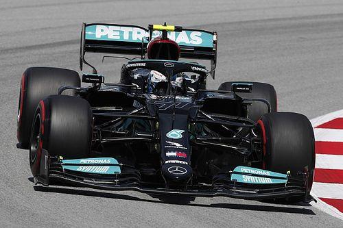 Bottas lidera una igualada FP1 de Barcelona y Alpine retrocede