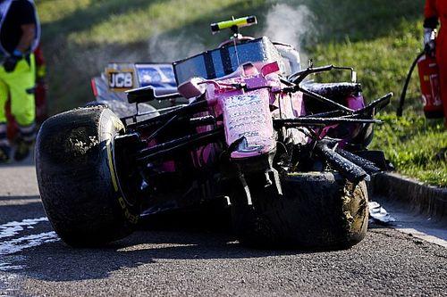 Nouvelles pièces : le crash de Stroll met Racing Point sous pression