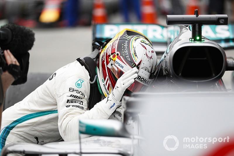 Le moteur de Hamilton aurait dû lâcher à mi-course
