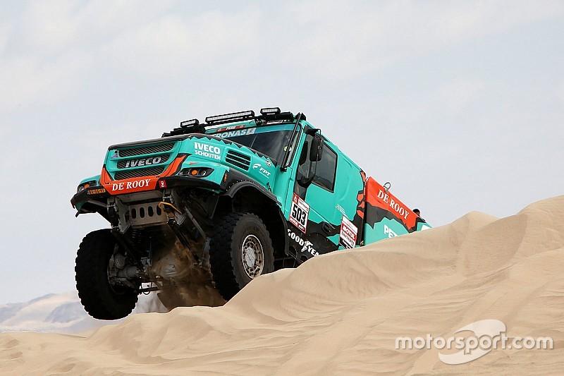 Dakar 2019: De Rooy ha concluso con una gomma che è andata a fuoco!