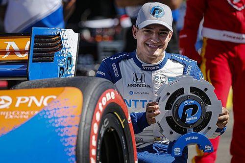 Палоу впервые выиграл квалификацию на этапе IndyCar