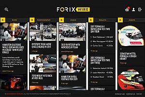 ALLGEMEINES Motorsport.com-News Motorsport Stats startet Dienstleistung ForixWire