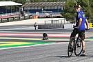 Los pilotos, preocupados por el estado del asfalto de Montmeló