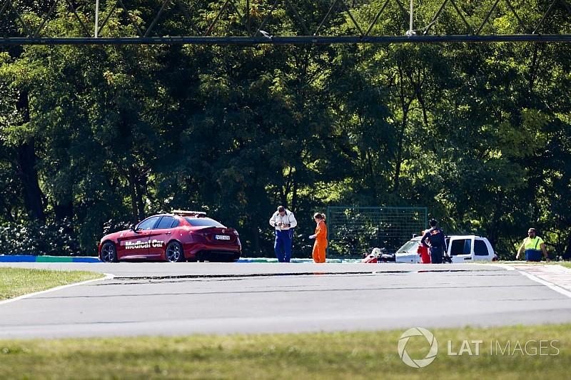 Tes F1 Hongaria: Vandoorne pimpin sesi pagi, Gelael picu bendera merah