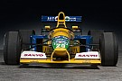 Automotive Benetton F1 car driven by Michael Schumacher for sale