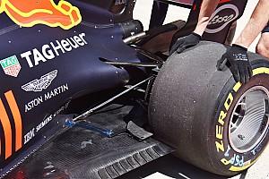 A hátsó gumik környékére is szenzorokat szerelt a Red Bull