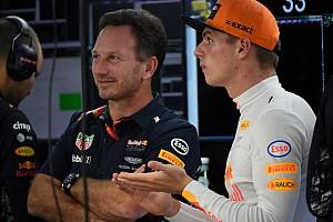 """Horner: """"Verstappen kan een team om zich heen bouwen bij Red Bull"""""""