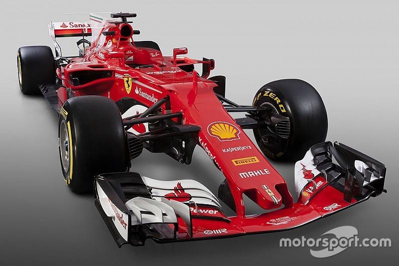 Ferrari представила болід Ф1 2017 року