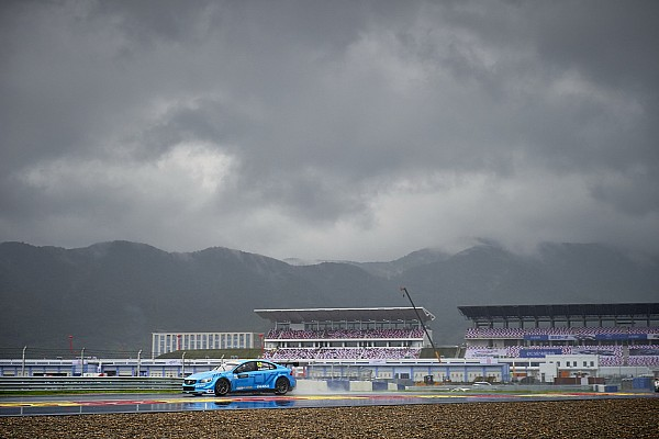 WTCC Репортаж з гонки WTCC в Китаї: друга гонка скасована через дощ