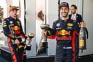 Red Bull, 2020 sonuna kadar Ricciardo ve Verstappen'le yarışmak istiyor