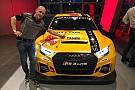 CIT Max Mugelli con l'Audi RS3 LMS di Pit Lane Competizioni nel TCR Italy