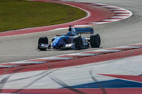 Austin F3.5: Orudzhev wins, drama for title rivals