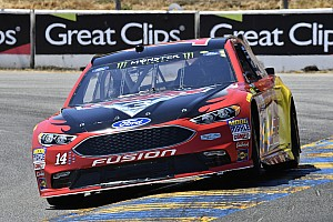 NASCAR Cup Breaking news Bowyer finishes second despite