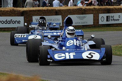 GALERI: Aksi mobil-mobil F1 di Goodwood Festival of Speed