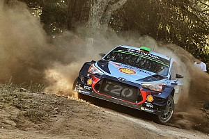 WRC Leg report Italy WRC: Paddon maintains small lead, Neuville hits trouble
