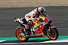 【MotoGP】イギリスGPの初日2度の転倒。マルケス「自分に腹立たしい」