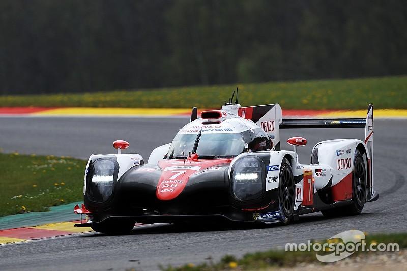 【WEC】スパFP1:トヨタ7号車首位もポルシェ2号車僅差で続く