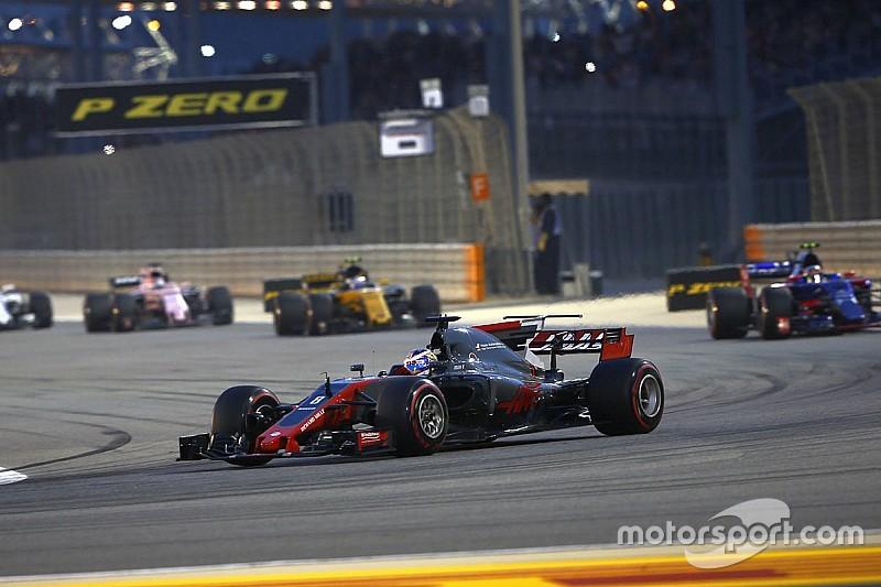 Grosjean satisfecho por el ritmo de Haas en Bahrein