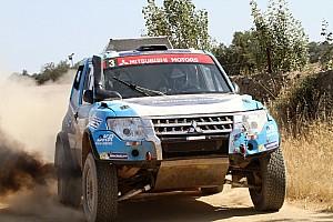Cross-Country Rally Noticias de última hora Los Mitsubishi abordan la carrera más importante del año