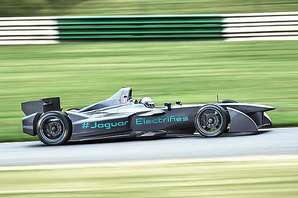Formula E A Mallory Park il primo collaudo della Jaguar Racing!