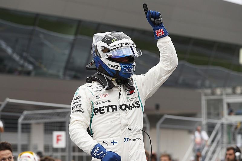 Bottas nyerte az Osztrák Nagydíj időmérőjét Hamilton és Vettel előtt