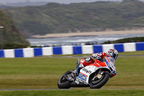 Dovizioso admits FP4 crash cause of poor qualifying