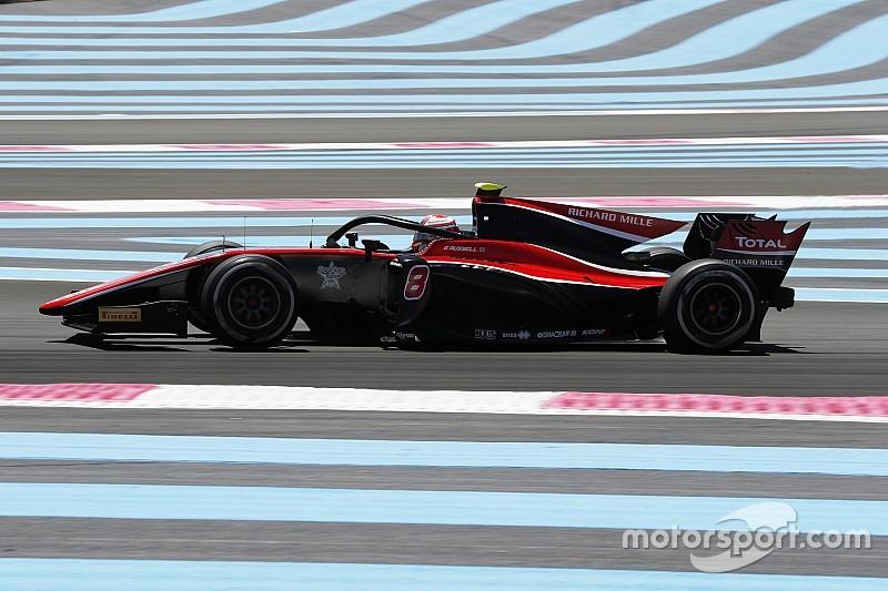 F2 Paul Ricard: Islak - kuru yarışı Russell kazandı