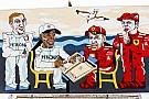 GALERÍA: el arte urbano de la F1 en Bakú