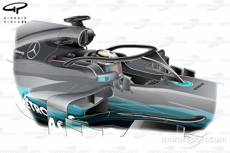 Tech analyse: Veranderingen voor het F1-seizoen 2018 verklaard