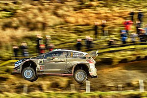 WRC Leg report Wales WRC: Evans stretches lead to almost 50 seconds