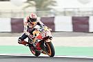 MotoGP Márquez lidera el warm up en Losail por delante de Dovizioso y Petrucci