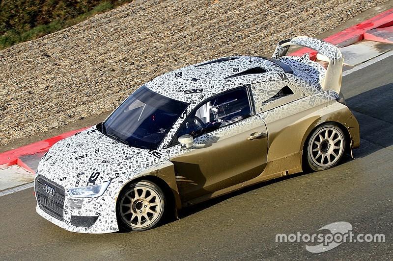 Ekstrom's new Audi World RX challenger breaks cover