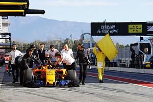 Formel 1 Testbericht Formel-1-Test Barcelona: McLaren kommt nicht in die Gänge