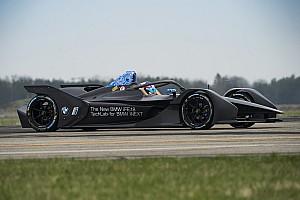 Формула E Новость BMW провела первые тесты машины Формулы Е нового поколения