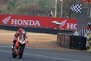 World Superbike Race report Buriram WSBK: Davies wins, both Kawasakis suffer