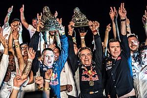 Dakar I più cliccati Fotogallery: Sainz e Peugeot festeggiano la vittoria alla Dakar 2018