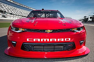NASCAR XFINITY Breaking news NASCAR's Chevrolet Camaro to have a new look for 2017