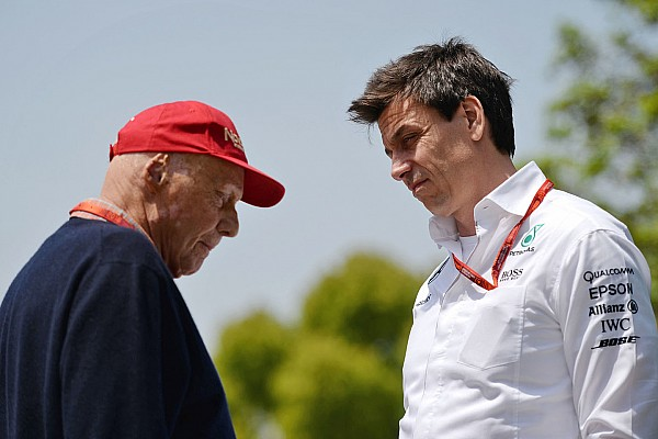 Formula 1 Wolff and Lauda to remain at Mercedes until 2020