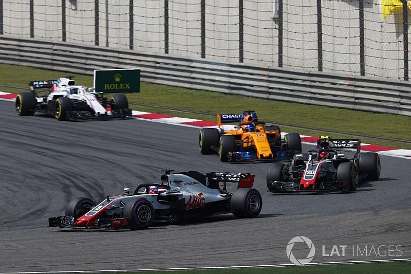 Haas: Magnussen, Grosjean'a kıyasla sorunlara daha iyi uyum sağlıyor