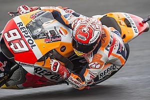 MotoGP Antrenman raporu MotoGP Arjantin 3. antrenman: Yağmurlu seansta Marquez lider