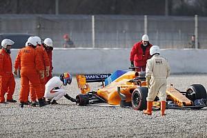 Formule 1 Actualités McLaren dédramatise sa matinée blanche à Barcelone
