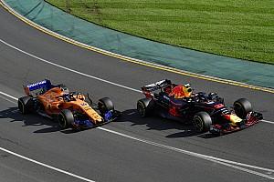 Formel 1 News Verstappen vs. Alonso: 0,1 Sekunden entscheiden Gelbverstoß