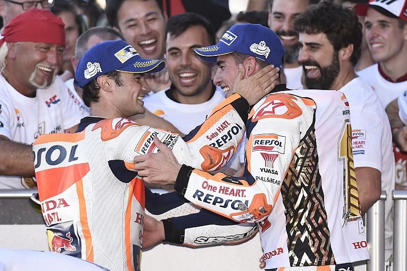 """Márquez: """"Estoy agradecido a Pedrosa porque me ha enseñado a pilotar la Honda"""""""