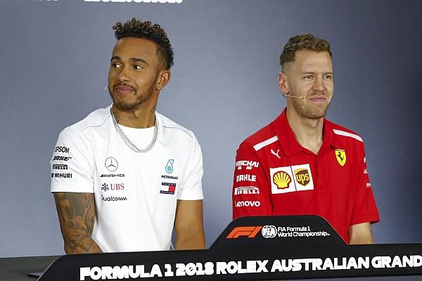 Formel 1 News Lacher in der FIA-PK: Hamilton folgt Fake-Vettel auf Instagram