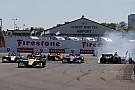 IndyCar Rossi culpa Wickens por acidente na relargada em St. Pete
