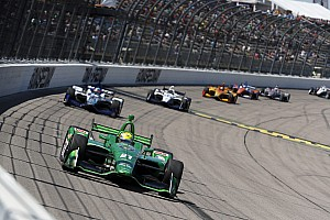 """IndyCar Breaking news Pigot's first IndyCar podium a """"weight off the shoulders"""""""