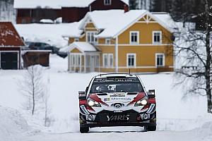 WRC Prüfungsbericht WRC Rallye Schweden: Toyota-Doppelführung zum Auftakt